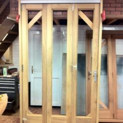 Bi Folding 3 Door set