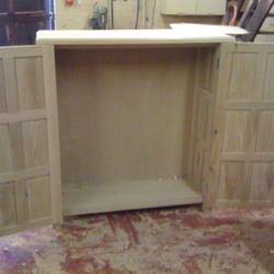 Oak Cabinet Internal