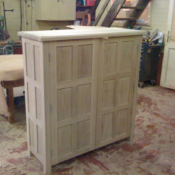 Oak Cabinet view 2