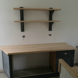 Shaker style Kitchen with Island primmed 4