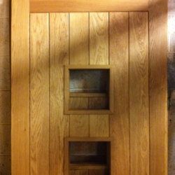 External Oak T&G Door