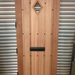 Gothic Style Utile Door