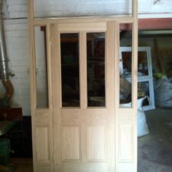 external door in frame