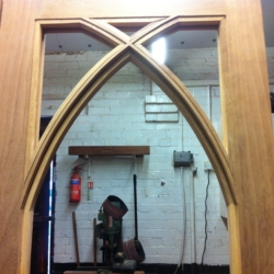 gothic iroko french doors 2